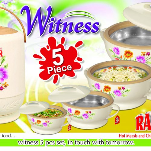 Witness 5Pcs